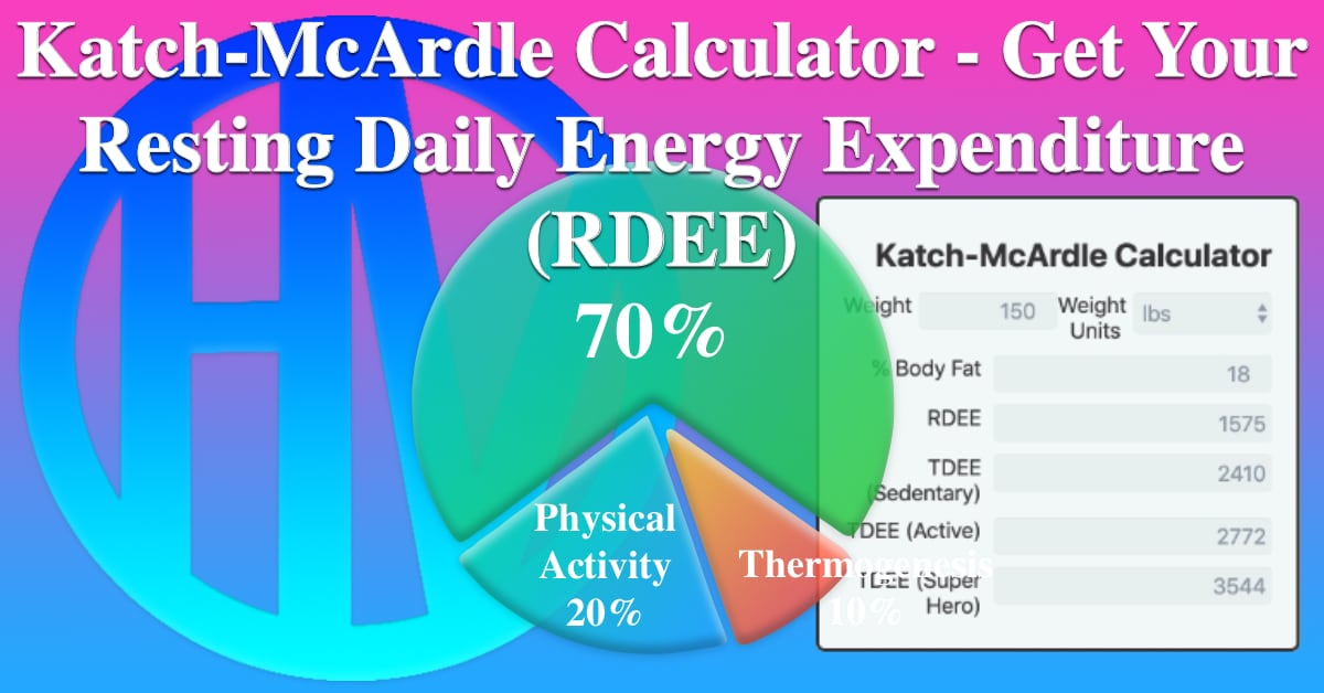 Katch Mcardle Calculator Get Your Resting Daily Energy